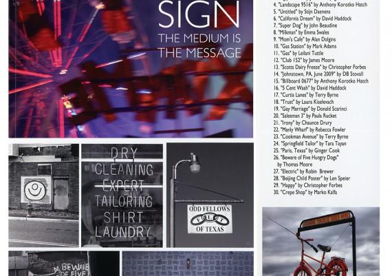 2012, Signs, 1650 Gallery, Los Angeles, California