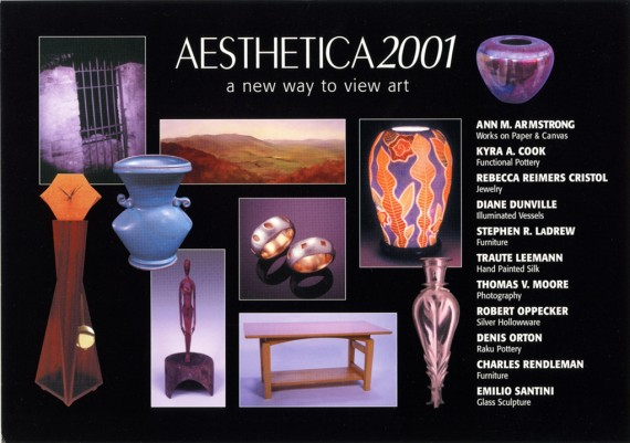 2001, Aesthectica, A New Way to View Art, Williamburg, Virginia