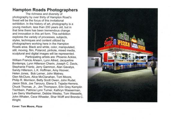 2006, Hampton Roads Photographers, Charles Taylor Art Center, Hampton, Virginia