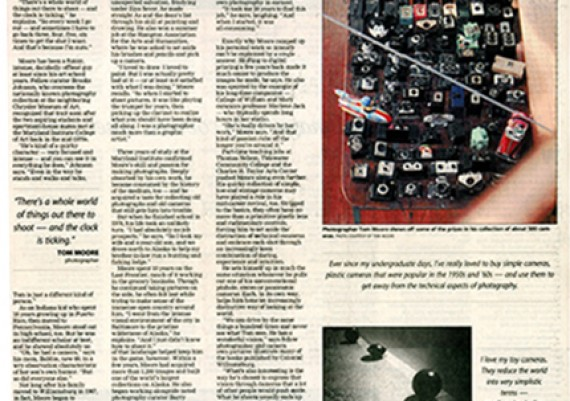 2008 The Daily Press, A Man of Many Visions (Inside Page)