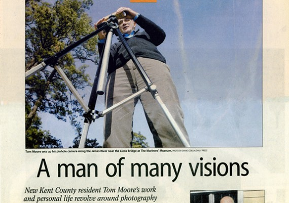 2008, The Daily Press, A Man of Many Visions
