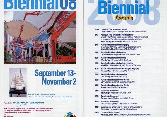 2008, Biennial 2008, Peninsula Fine Art Center, Newport News, Virginia
