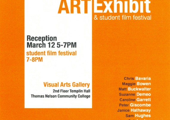 2013, TNCC Faculty Art Exhibtion, Thomas Nelson Community College, Hampton, Virginia