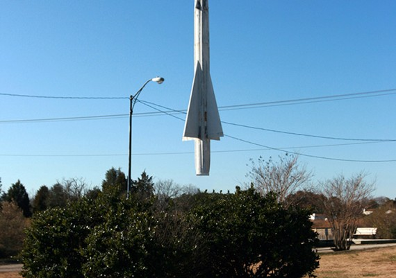 Levitating Rocket