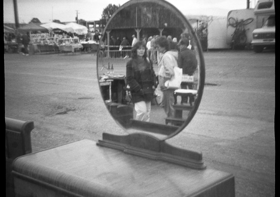 The Mirror at Flea Maket