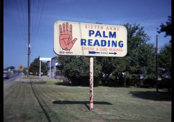 Palm Reading, Richmond, Virginia