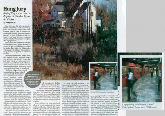 2010, Hung Jury, Virginia Artist, Veer Magazine