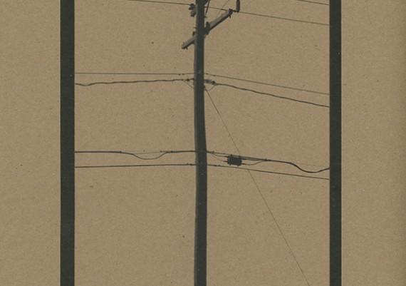 Telephone Pole Grocery Bag